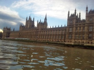 The Houses of Parliament. Even I know not to get too close.