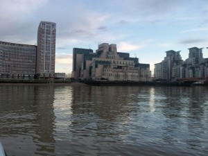 The slipway at Vauxhall. Oh, and MI6.