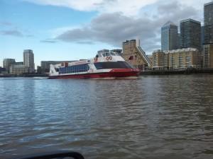A rather unfriendly tourist cruiser.